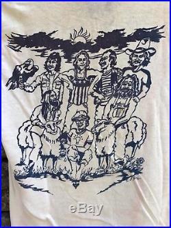 1970's Vintage Grateful Dead T Shirt Jerry Garcia Hanes Vtg EXTREMELY RARE