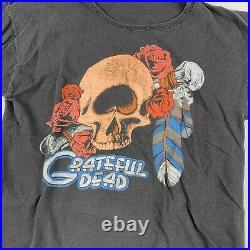 1970s Grateful Dead Vintage Tour Band Tee Shirt 70s 1970s