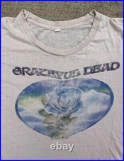 1978 1979 Grateful Dead Winterland T Shirt 70s