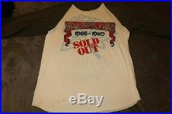 1980 Vintage Grateful Dead Raglan Shirt L 66-80 SOLD OUT KELLEY/MOUSE ORIGINAL