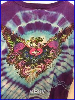 1980s Vintage Grateful Dead T Shirt L/XL MIKIO