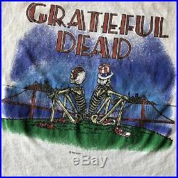 1981 Grateful Dead San Francisco Rare Band T-Shirt