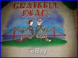 1982 Grateful Dead Shirt vintage 80s original Stanley Mouse uncle sam raglan