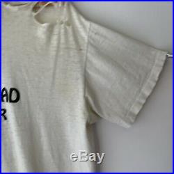1987 Grateful Dead Summer Tour Vintage Tour Band Tee Shirt 80s 1980s Thrashed