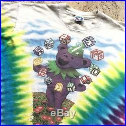 1991 Grateful Dead Liquid Blue Sping Tour T-Shirt