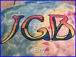 1991 Jerry Garcia Band Long Sleeve tie dye shirt Grateful Dead XL