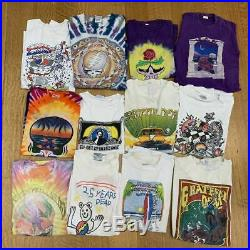 (50) Vintage Grateful Dead T-shirt Tees 70s 80s 90s Jerry Garcia Tie Dye Lot