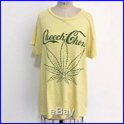 70s Vintage Cheech & Chong T-Shirt and weed vape lsd grateful dead 80s punk