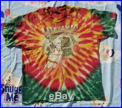 90's Lithuania Grateful Dead Tye Dye Vintage XL Shirt