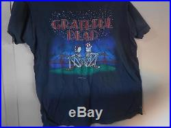 ANTIQUE 37 YEARS OLD SCREEN STARS RARE 100% COTTON Grateful Dead T-Shirt 1981