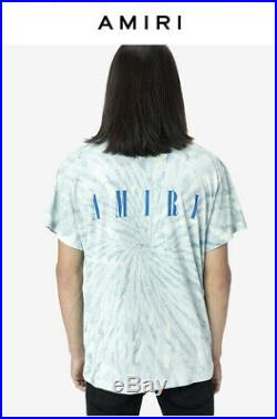 Amiri T Shirt Small Grateful Dead Bear Tie Dye Tee Authentic