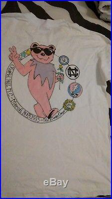 BEAR Chapel Hill NC1993 pocket t grateful dead lot shirt vintage rare ONLY ONE
