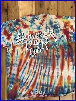 Band T-Shirt Grateful Dead Retro Vintage Very Rare Summer Tour Collectors Item