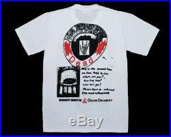 Boot Boyz Biz x Online Ceramics Grateful Dead NYC Pavilion'69 Tee Small