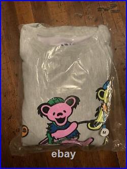 Chinatown Market x Grateful Dead PMA Bears Jerry CREWNECK Sz Medium (IN HAND)