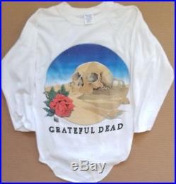 Europe 1981 Vintage grateful dead t shirt