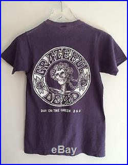 Extremely Rare Concert T-Shirt Day on the Green The Who and The Grateful Dead