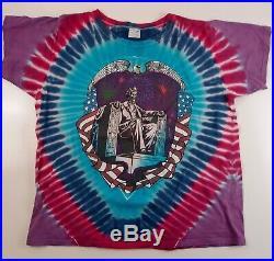 GRATEFUL DEAD 1991 RFK STADIUM TOUR T-SHIRT Tie Dye Vintage Original XL (TAG)