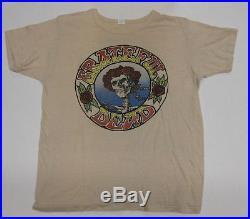 GRATEFUL DEAD Home At Winterland 1974 US VINTAGE Promo T-SHIRT Jerry Garcia
