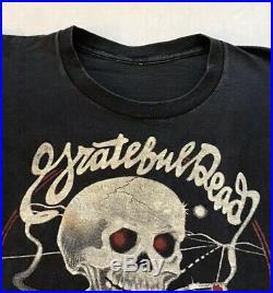 GRATEFUL DEAD VINTAGE SHIRT 1980 On The Road Again Concert Tour