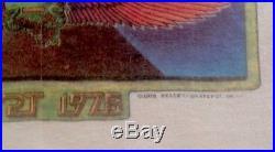 GRATEFUL DEAD VINTAGE SHIRT LP 1978 Concert Kelley Mouse Baseball Jerry Garcia