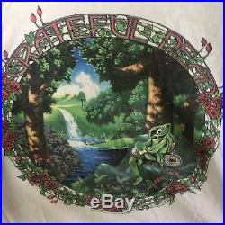 Genuine Vintage Grateful Dead Baseball Tee Shirt 1984 Tour