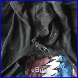 Grateful Dead 1976 Shirt RARE VINTAGE Jerry Garcia Bob Weir Weed Marijuana