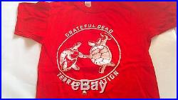 Grateful Dead 1977 Terrapin Station Promo Shirt Small Vg Clean