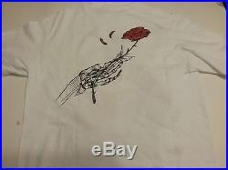 Grateful Dead 1985 Unique Shirt Medium Perez Nmint Rare Clean Vtg Htf