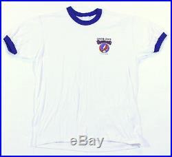 Grateful Dead 1986 Vintage Original Local Crew Concert T-Shirt Size Large