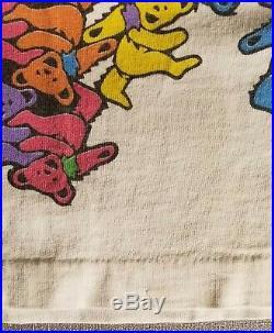 Grateful Dead 1993 All Over Print Dancing Bears Vintage T-Shirt Size XL X-Large