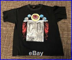 Grateful Dead 1993 Spring Tour T-Shirt Stone Roses Rare Brockum XL Vintage 90s