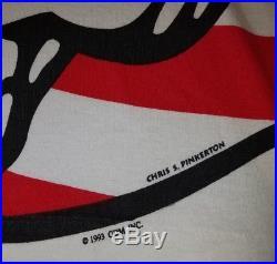 Grateful Dead ALL OVER FLAG STARS STRIPES 1993 Summer Tour Shirt Large Vintage
