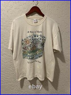 Grateful Dead Box of Rain Vintage Shirt RARE 90s shirt