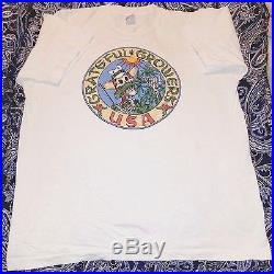 Grateful Dead Concert 1990s Pot Growers USA Cannabis History T-Shirt Vintage