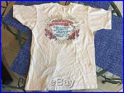 Grateful Dead Crew Owned Concert T-Shirt California 1993 L with Backstage Pass