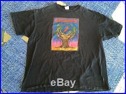 Grateful Dead Crew Owned Concert T-Shirt Fall Tour 1989 XL