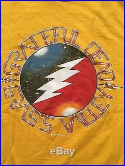 Grateful Dead Grass Valley 1983 T-shirt