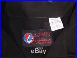 Grateful Dead Hard Rock Cafe Montreal Embroidered Skeletons 2XL Bowling Shirt