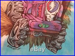 Grateful Dead Highgate Long Sleeve Shirt 1996 GDM Pinkerton Liquid Blue USA szL