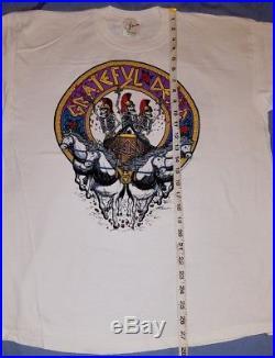 Grateful Dead LA Coliseum 1991 Concert T-Shirt MCMXCI Large Vintage