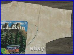 Grateful Dead LL Rain 1998 FOTL Large T-Shirt Vintage 90's Band Tee Fishing Bear