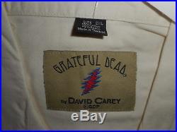 Grateful Dead SYF David Carey Button Up Hawaiian Bowling Club Shirt 2XL/XXL