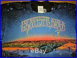 Grateful Dead San Francisco Washington Bridge original T Shirt GDM Brockum 1990