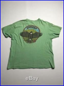 Grateful Dead Shirt T Shirt Vintage 1984 Mountain Hawk Eagle Eye Lundquist GDP L