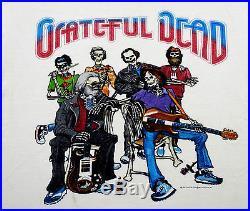grateful dead shirt t shirt vintage 1987 fall tour in the