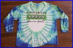 Grateful Dead Shirt T Shirt Vintage 1991 Rainforest Panther Mikio Art GDM XL