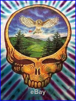 Grateful Dead Shirt T Shirt Vintage 1993 Eugene, Oregon Owl XL Aug 21-22, 93