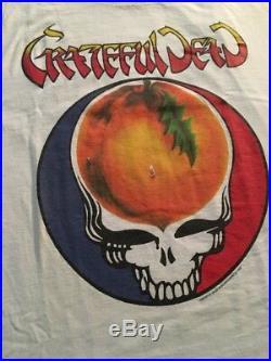 Grateful Dead Shirt T Shirt Vintage 1994 Spring Tour Atlanta XXL Peach NOS RARE