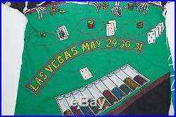 Grateful Dead Shirt Vintage LAS VEGAS 1992 Concert Tour T-shirt All Over 90s XL